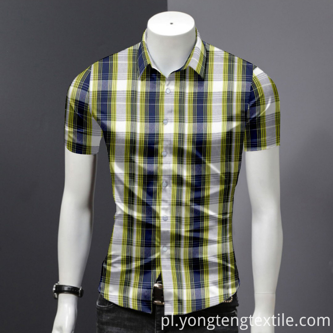 100% Cotton Fabric for Mens Shirt