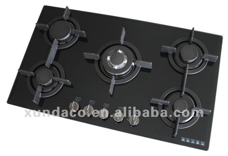 Gas Hobs for Front Control panel