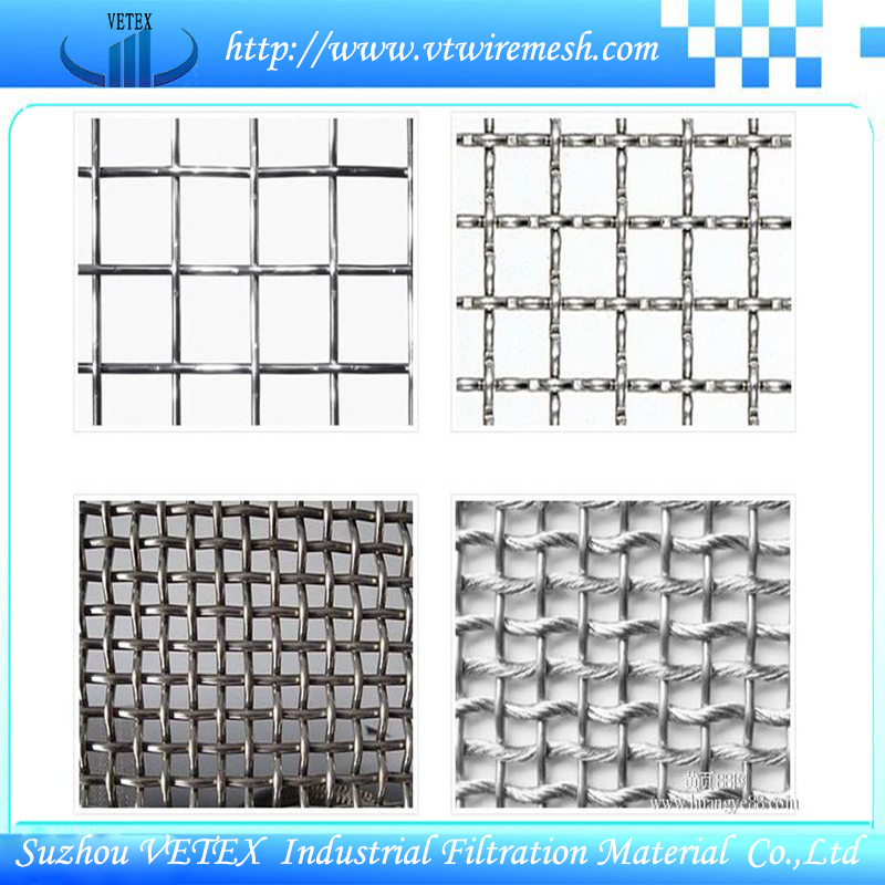 Crimped Mesh Square Wire Mesh for Construction
