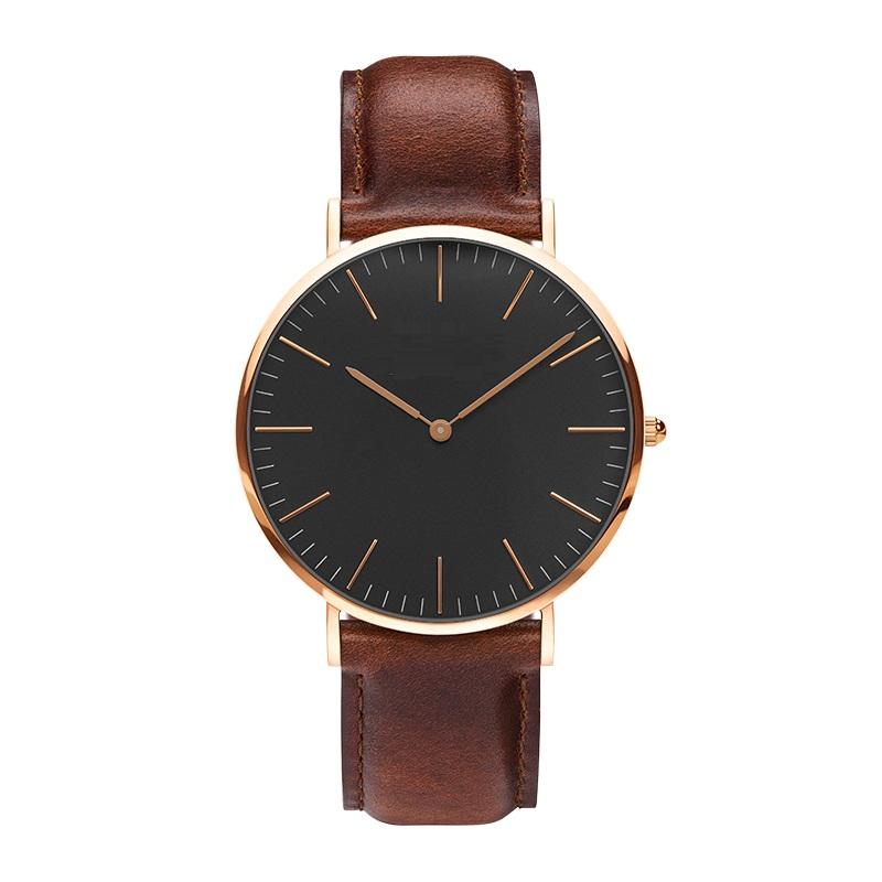 Watches Women Fashion Watch 2016 Rose Gold Casual Quartz Watch Leather Strap Men Watches Relogio Feminino Mas