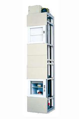Cheap Manual Open Sliding Door Dumbwaiter Elevator Goods Lift