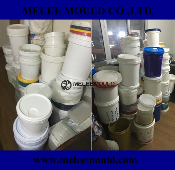 Melee Custom Plastic Pail Paint Bucket Mould