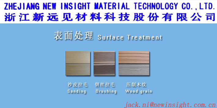 146X24mm WPC Wood Plastic Composite Decking Boards