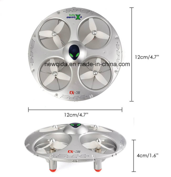 R/C Headless Mode 2.4G UFO Remmote Control Toy Helicopter