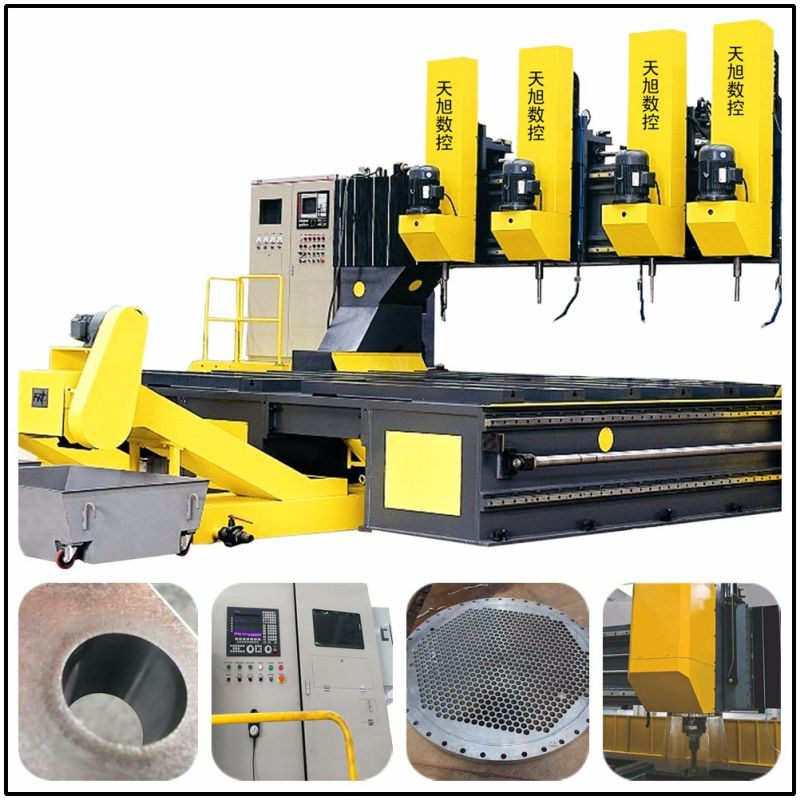 heat exchanger drilling machine
