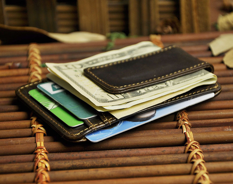 Best Selling Portable Men and Women Leather Credit Card Holder From Italy