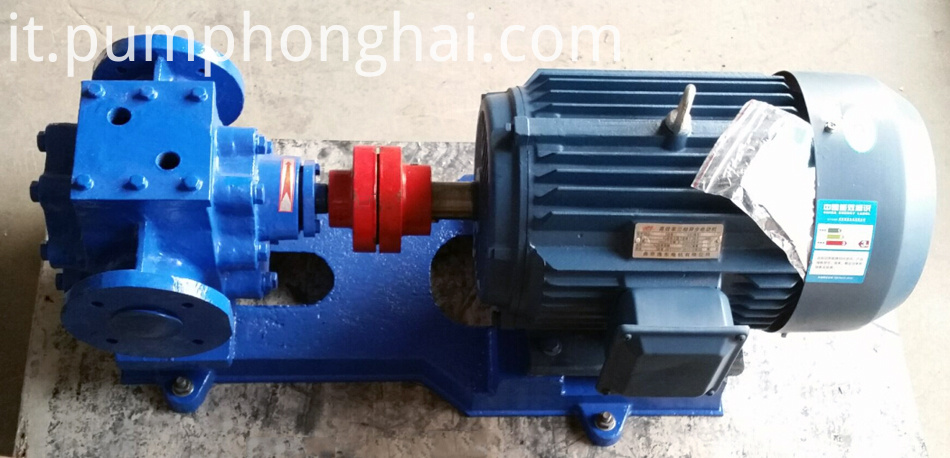 cast iron material bitumen gear pump