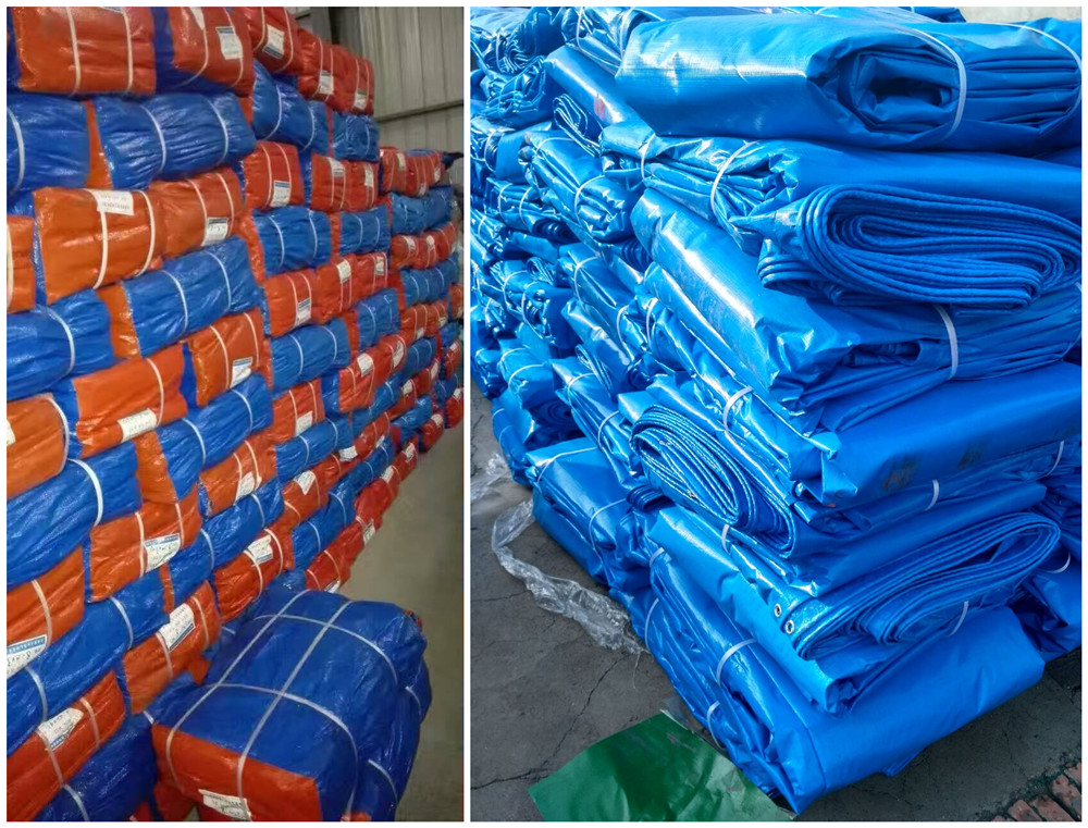 PE tarpaulin bale packing