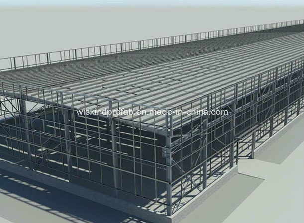 Pre-Engineering Steel Structure Building with BV, SGS, ISO
