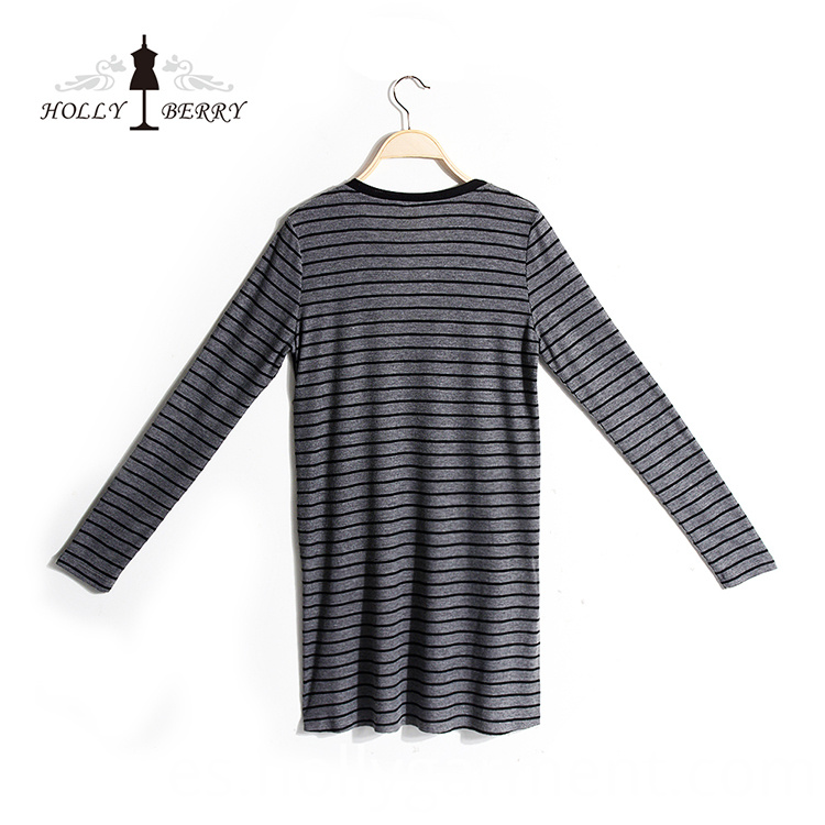 Striped Long Sweatshirt