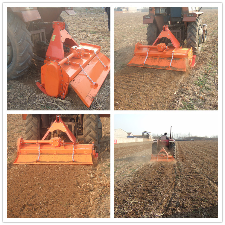 Side Gear Matched Tractor Rotary Tiller with Ce Certification