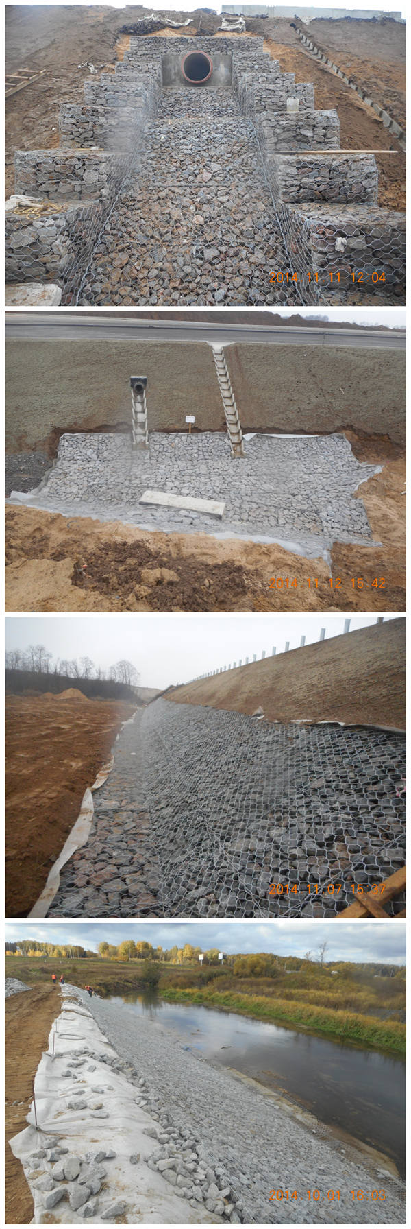 Hot Dipped Galvanized Gabion Box for Philippines Market