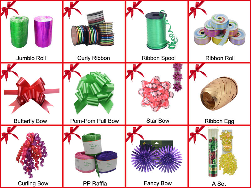 Factory Wholesale Gift Package POM-POM Pull Bow for Wedding