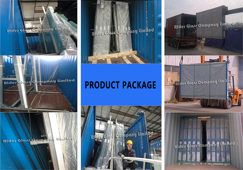 6.38-42.3mm Clear Colored High Quality Laminated Glass