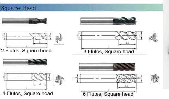Finish Mould and Die Machining Solid Carbide Endmill