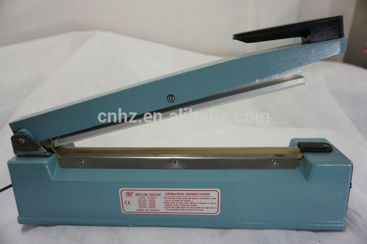 Hand Sealing Machine for Food Aluminum Body with Side Cutter