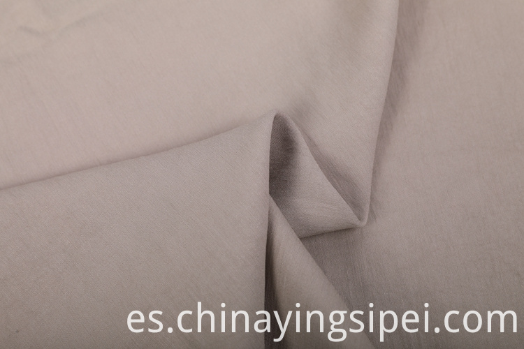 Stock eco woven plain polyester rayon fabric
