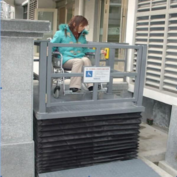 Anti-Dust Hydraulic Wheelchair Lifting Platform