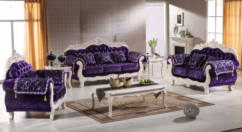Living Room Furniture with Wood Sofa (929T)