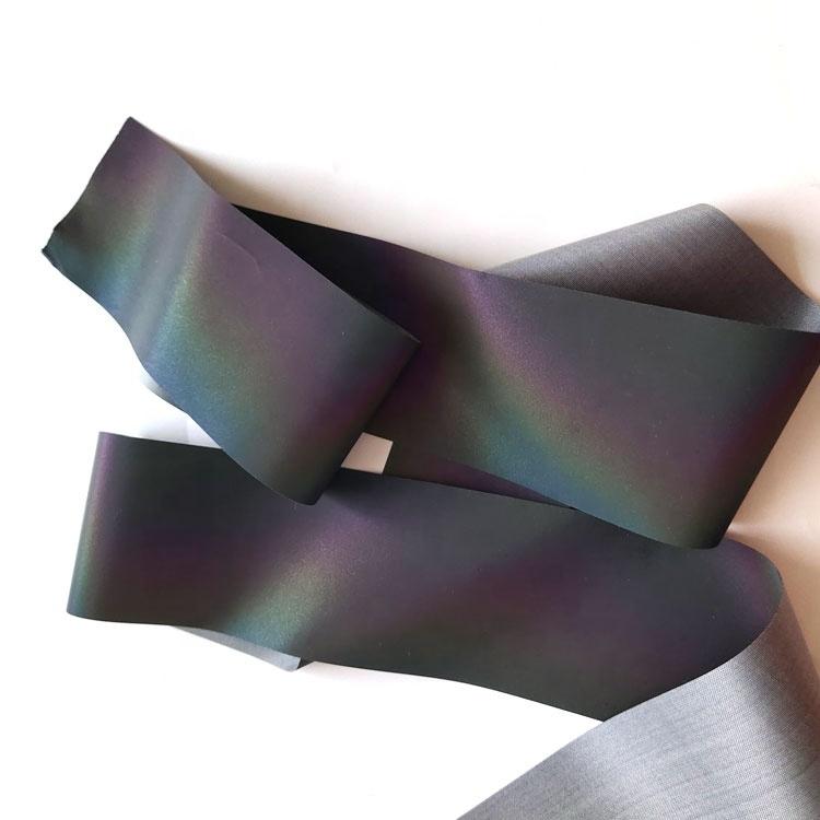 Rainbow Reflective Fabric