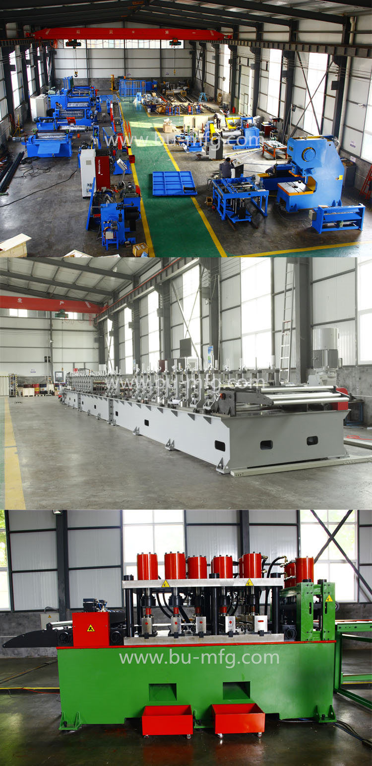 Manual Type Composite Board Bottom Panel Sheet Roll Forming Machine