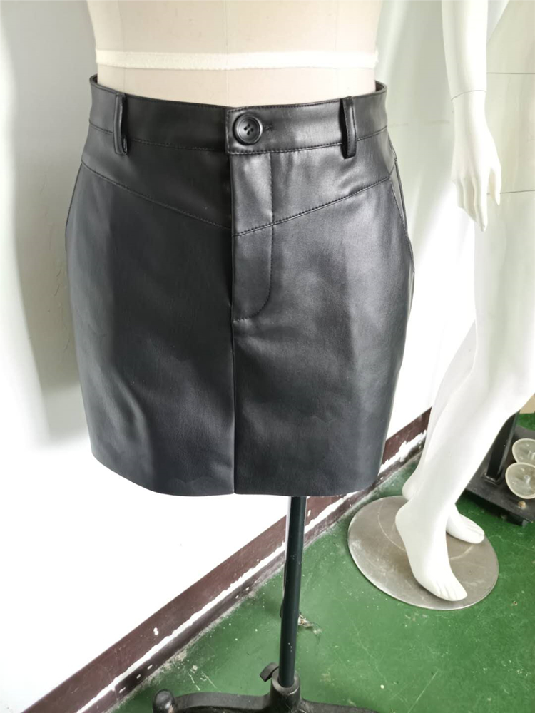 Competitive Price Slit Skirt Custom Skirt