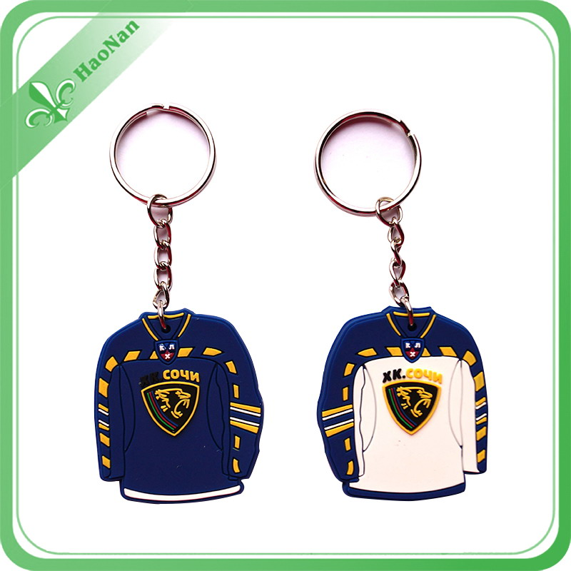 Best Price Custom Logo 3D Rubber Keychain