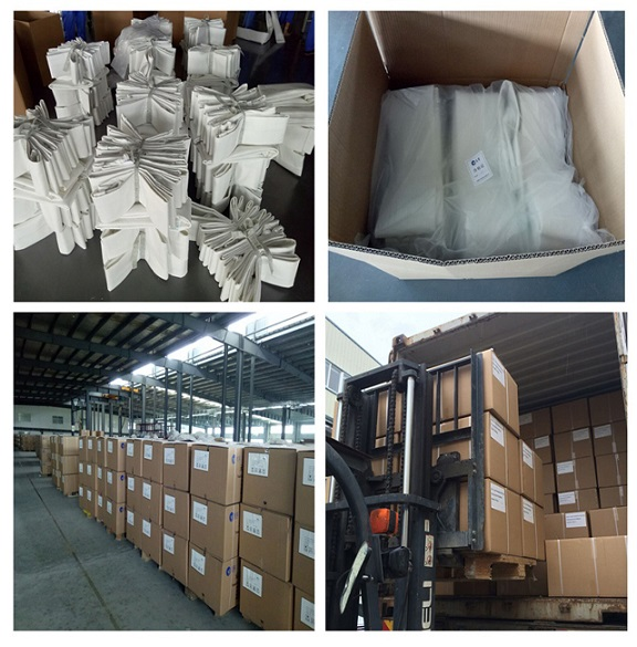 Nonwoven P84 and PPS Composite Dust Collector Filter Bag for Hydroelectric Power Plant