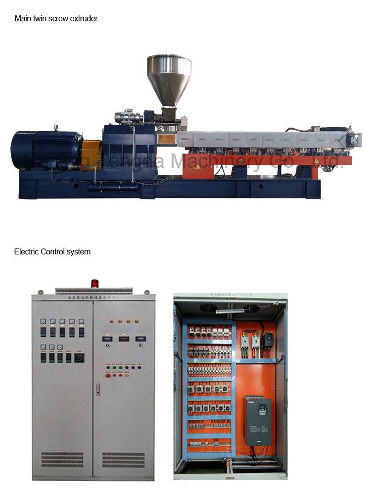 Cable Extruder Line with High Filler Formulation