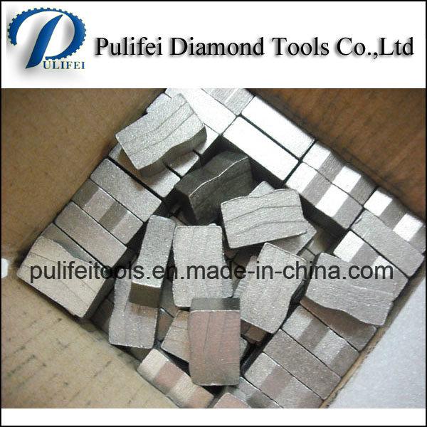 China Diamond Segment Manufacturer for 900-3500mm Saw Blade