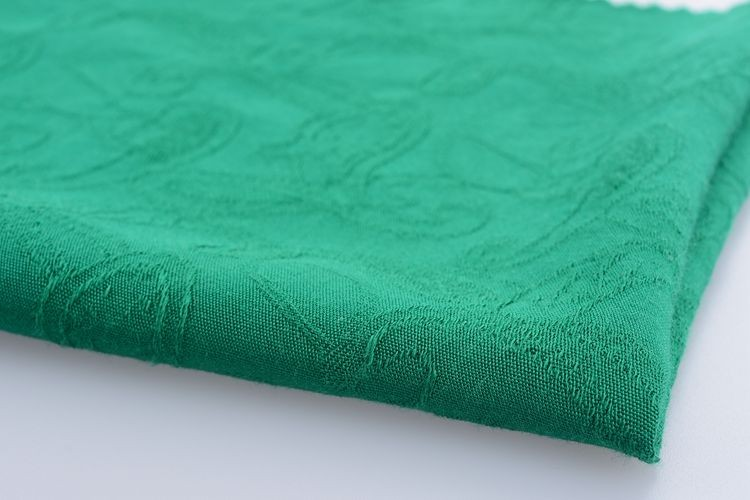 High quality rayon jacquard fabric