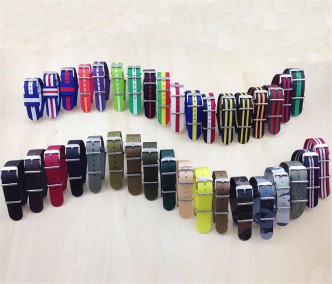 Yxl-606 20mm, 22mm Watch Strap, Colorful /Nato Nylon Strap Watch, Changeable Nylon Watch Strap