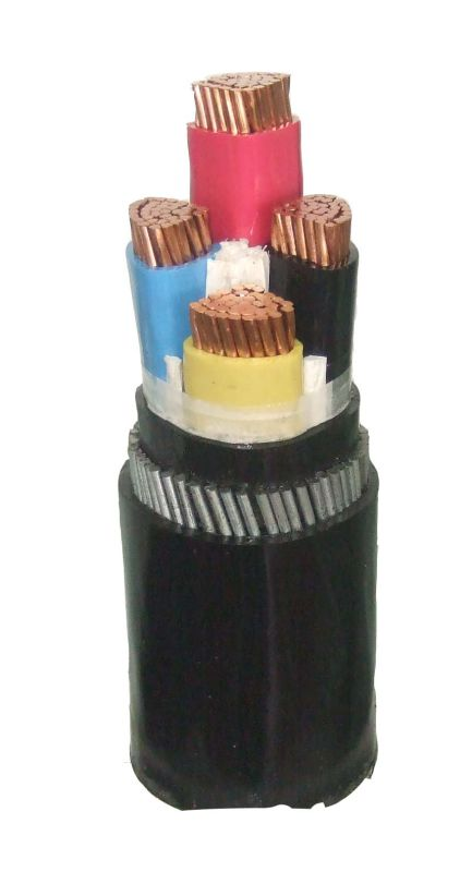 Copper Conductor XLPE Insulated 4 Core 95mm Power Cable