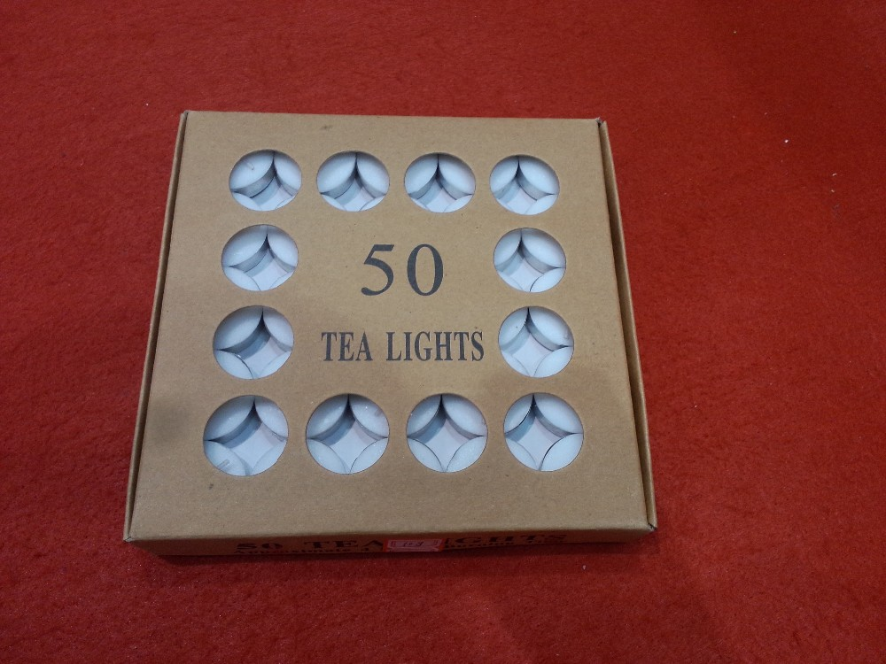 Box Tealight Candles
