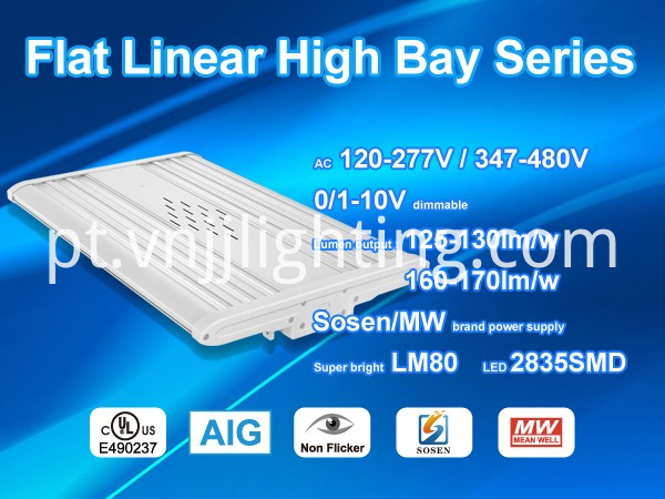Dimmable LED Linear Highbay Light