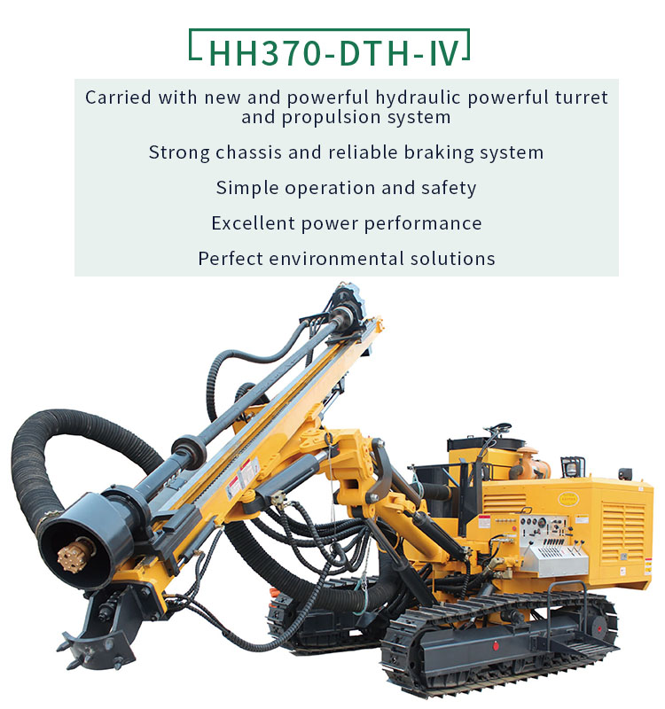 Good Quality Water Rock Soil Drilling Rig Machine