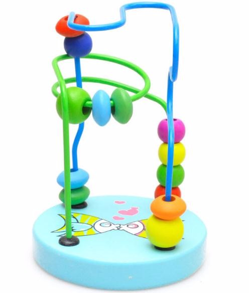 Wooden Bead Maze for Toddler