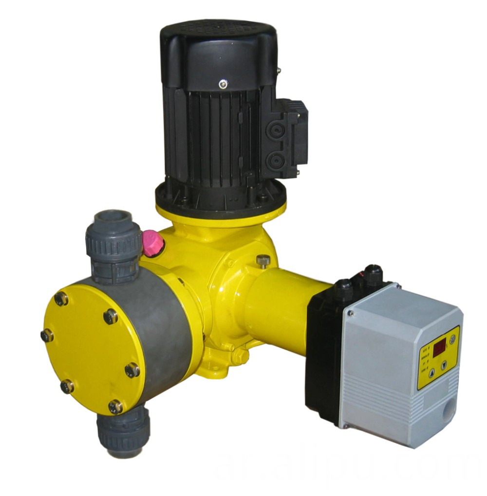Automatic controllable metering pump
