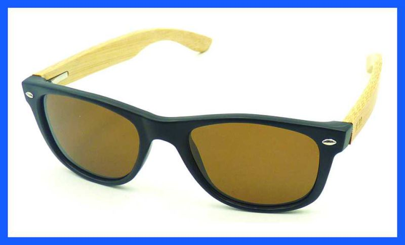 Fqpw161502 Good Quality Colorful Bamboo Temple Sunglasses