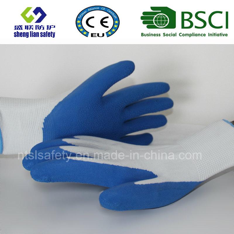 Glove Foam Latex Coated Gardening Work Safety Gloves