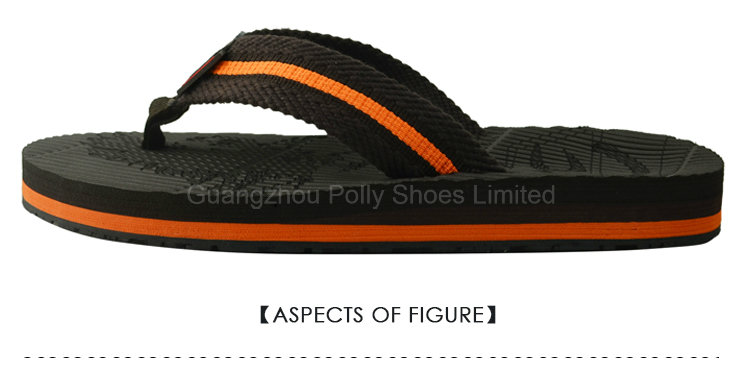 Latitude Mens Vegan Nubuck Strap Flip Flop Sandals Black