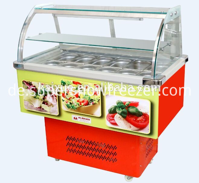 Salad Refrigerator Counter