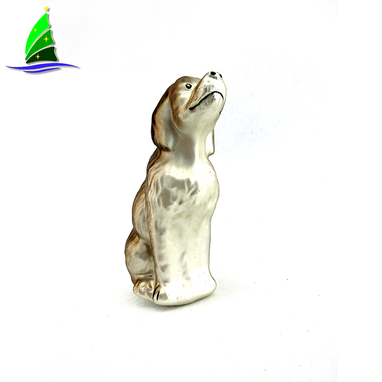 glass Retriever Ornament