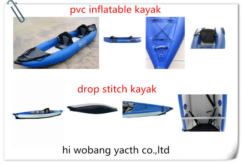 Inflatable Fishing Kayak Sit on Top Boat for Sale