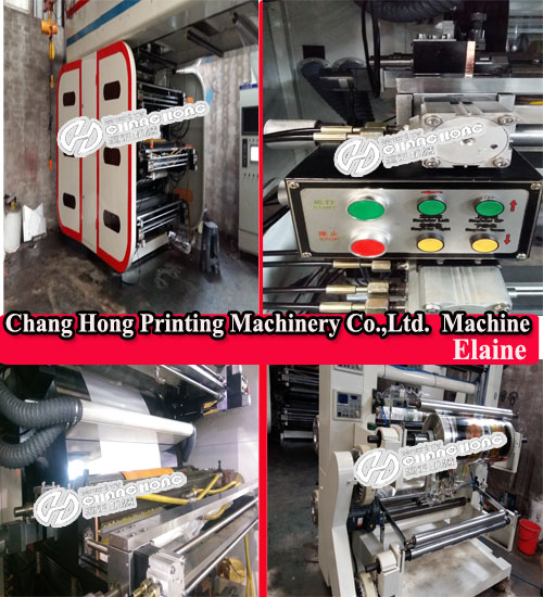 6 Colorsroll to Roll Woven Flexo Printing Machine