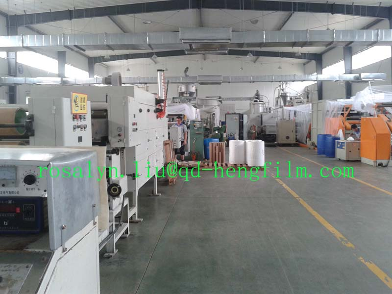Thermoforming Packing Rigid HIPS Film for Electronic Tray