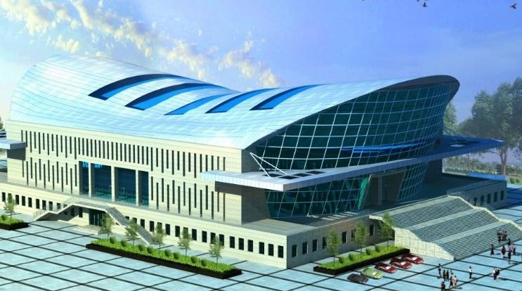 Steel Waterproof Space Structure Bleachers Roof