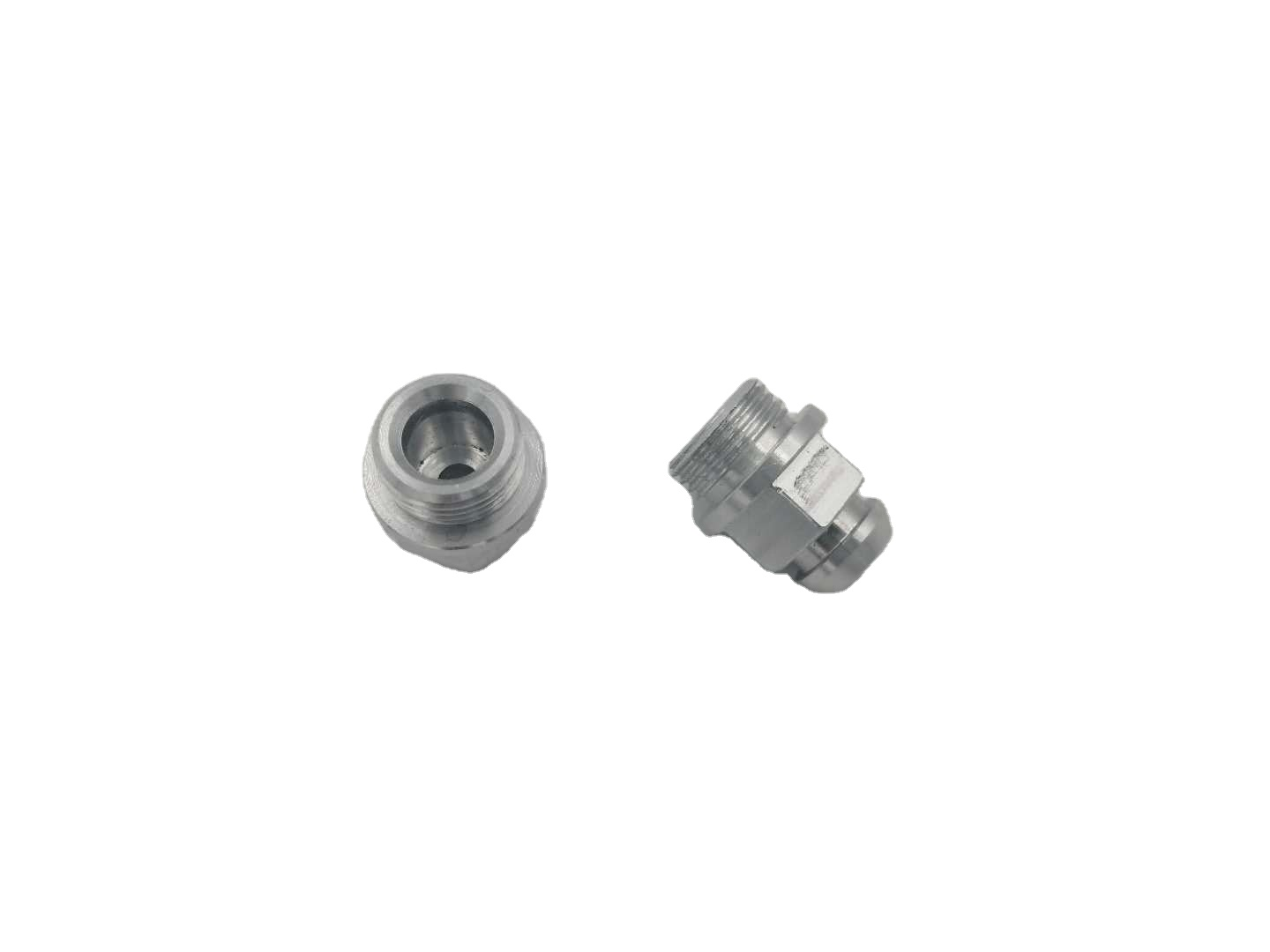 stainless steel safety cap hardware thread investment casting and cnc machining