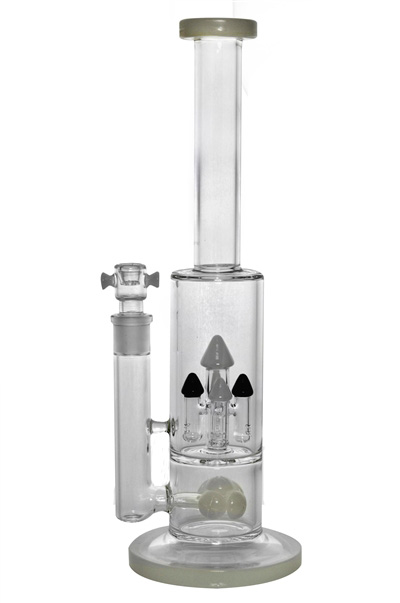 4 Tower Showerheads Hookah Glass Water Pipe for Smoking (ES-GB-453)