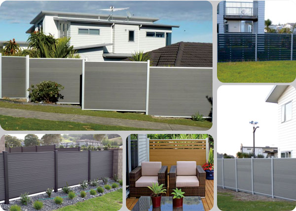 Fencing New Design Trellis Composite Fence